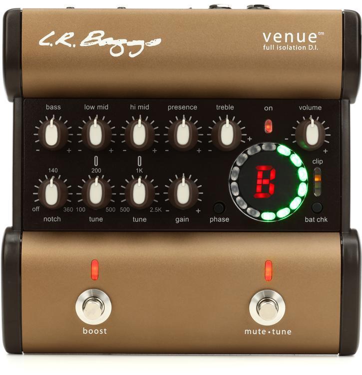 LR Baggs Venue DI Acoustic Preamp EQ/DI/Tuner Pedal image 1