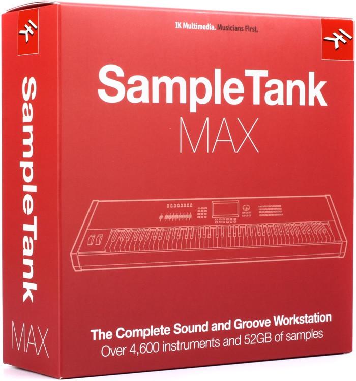 IK Multimedia SampleTank MAX Virtual Instrument Bundle (boxed with USB Drive) image 1