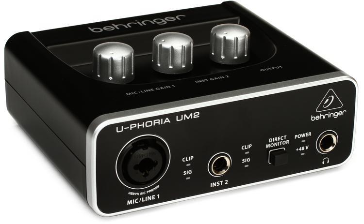 Behringer U-Phoria UM2 USB音频接口图像