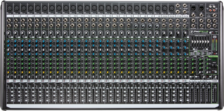 Mackie ProFX30v2 Mixer and USB Audio Interface with Effects image 1