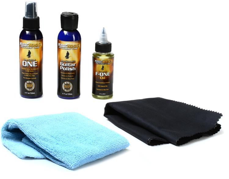 MusicNomad Premium Guitar Care System - Contains MN103,MN101,MN105,MN201,MN202 image 1