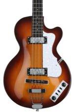 Hofner Ignition Club Bass - Sunburst w/Hardshell Case