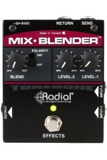 Radial Mix-Blender Dual Instrument Buffer, Mixer, and FX Loop Interface