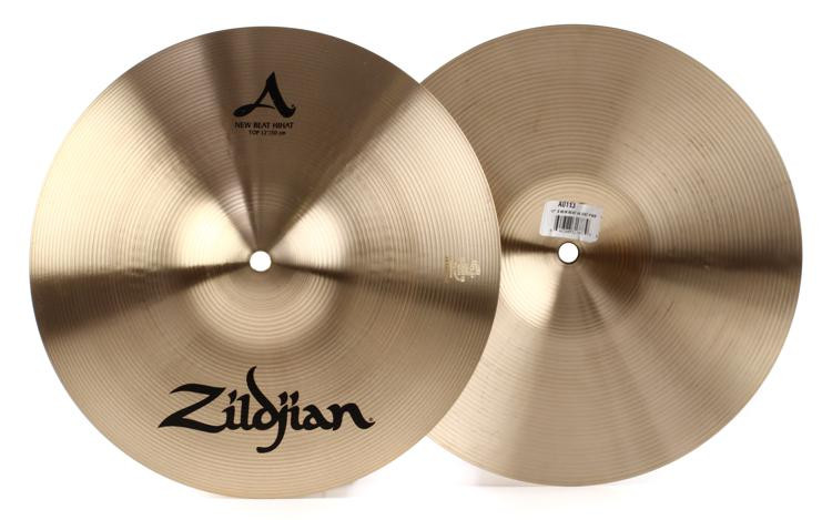 zildjian 12 a zildjian new beat hi hat cymbals sweetwater. Black Bedroom Furniture Sets. Home Design Ideas