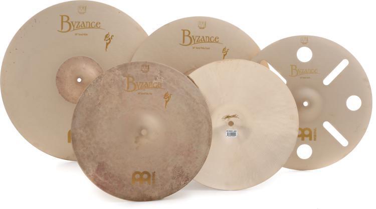 Meinl Cymbals Byzance Vintage Benny Greb Sand Series Cymbal Box Set Free 16