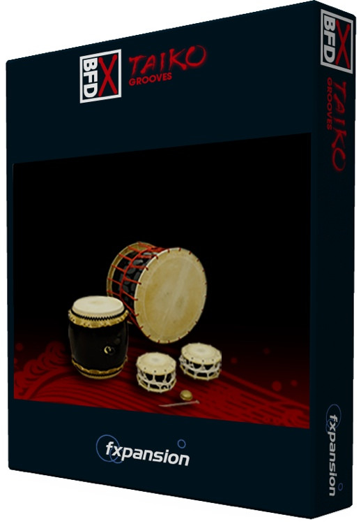 FXpansion BFD Grooves for Taiko Percussion Groove Pack image 1