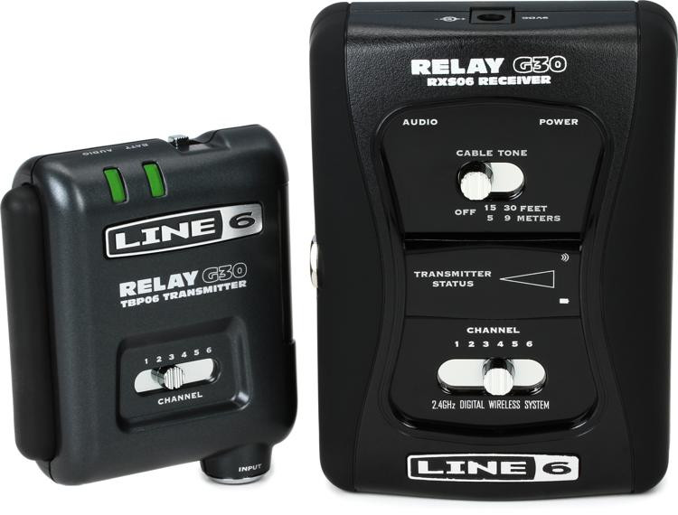 line 6 relay g30 digital wireless guitar system sweetwater. Black Bedroom Furniture Sets. Home Design Ideas