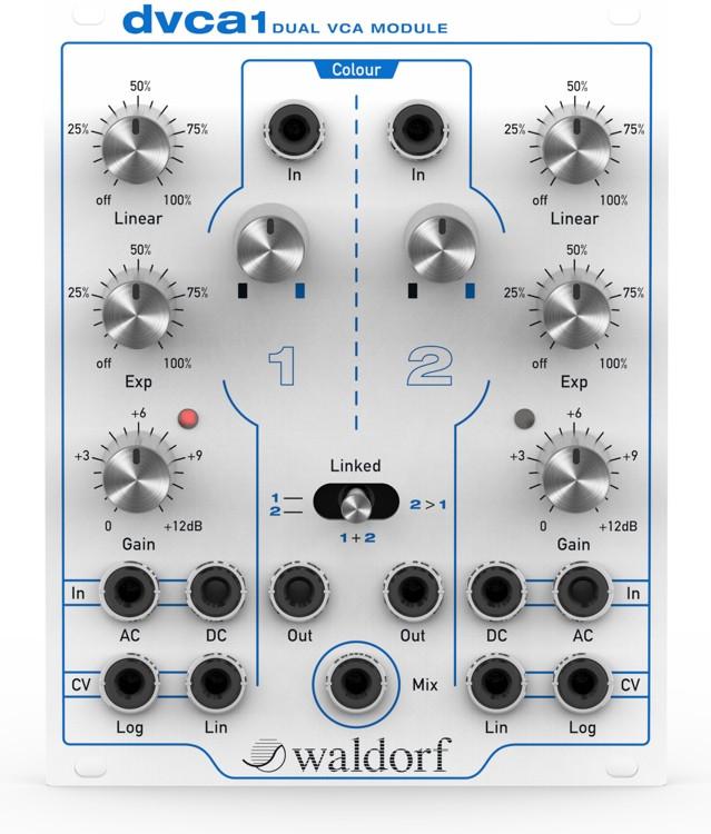 Waldorf dvca1 Eurorack Dual VCA Module image 1