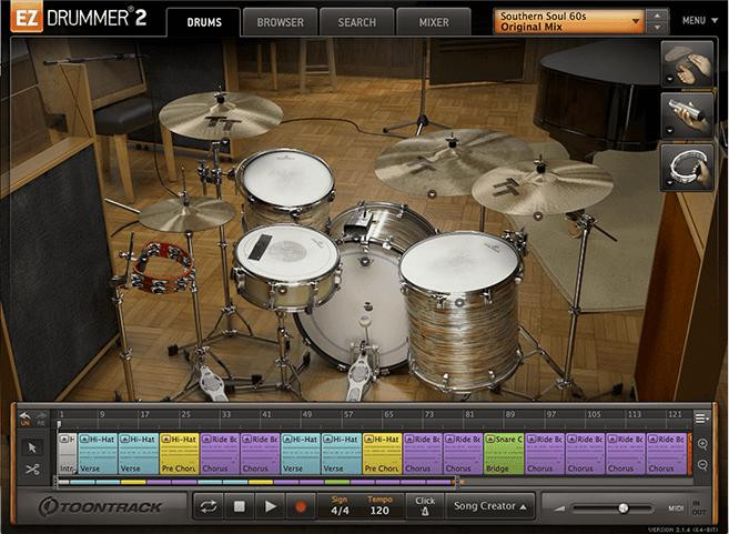 Toontrack Southern Soul EZX image 1