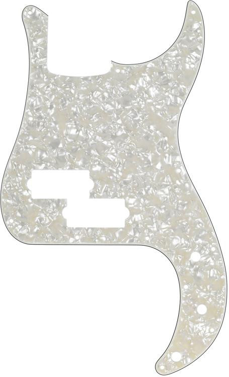Fender Precision Bass Pickguard - Pearl White image 1