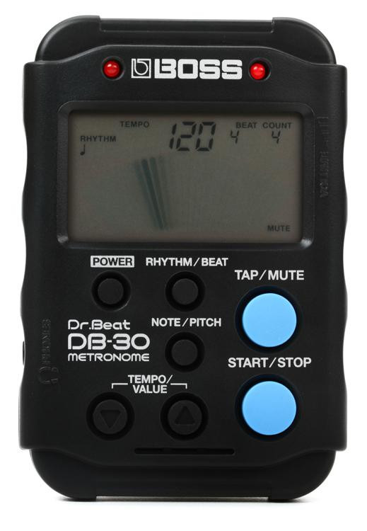 boss db 30 dr beat metronome sweetwater. Black Bedroom Furniture Sets. Home Design Ideas