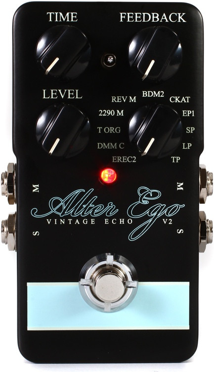 TC Electronic Alter Ego V2 Vintage Delay and Looper Pedal image 1