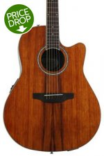 Ovation Applause AB24IIP Balladeer Plus, Mid-depth bowl - Koa