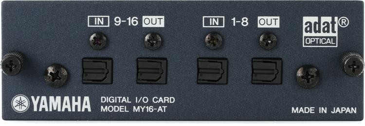 Yamaha MY16AT 16-channel ADAT I/O Card image 1