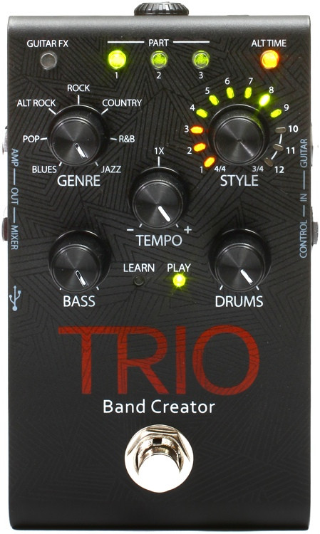 digitech trio band creator pedal sweetwater. Black Bedroom Furniture Sets. Home Design Ideas