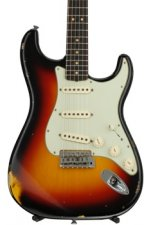Fender Custom Shop 1963 Time Machine Relic Stratocaster - 3-color Sunburst with Rosewood Fingerboard