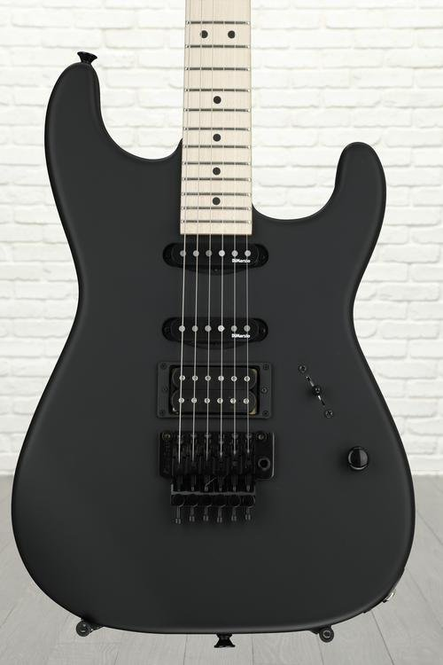 Charvel USA Select San Dimas Series 1 HSS Floyd Rose - Pitch Black