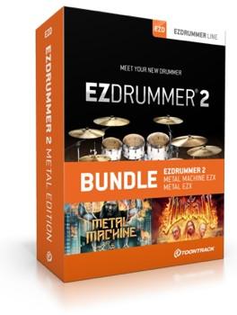 Toontrack EZdrummer 2 Metal Edition image 1