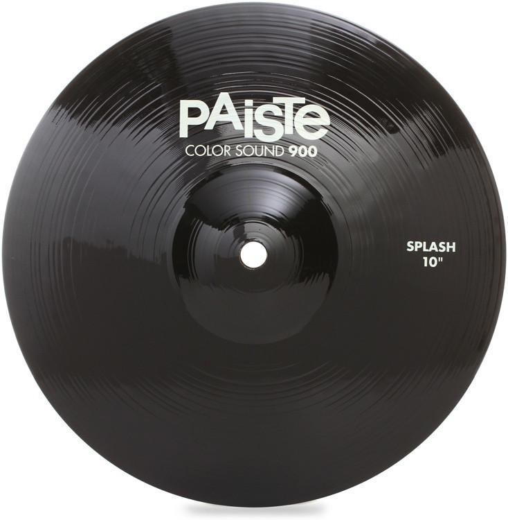 paiste color sound 900 splash cymbal 10 black sweetwater. Black Bedroom Furniture Sets. Home Design Ideas