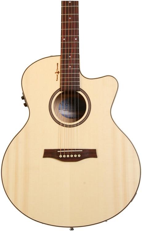 Seagull Guitars Natural Elements CW Mini-Jumbo SG - Heart of Wild Cherry image 1