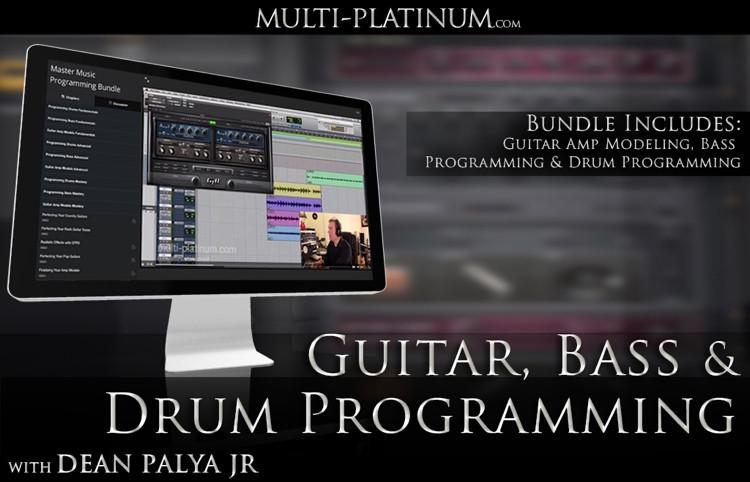 Multi Platinum Guitar, Bass, and Drum Programming Bundle Interactive Course image 1
