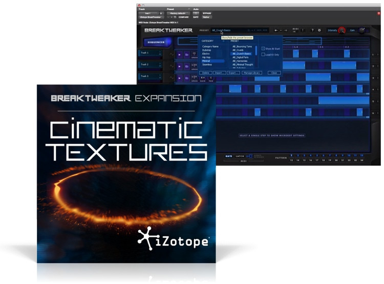iZotope BreakTweaker Expansion: Cinematic Textures image 1