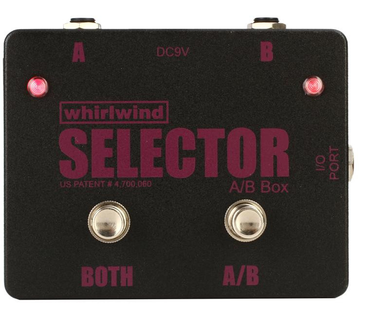 Whirlwind Selector Active A/B Switch Box image 1