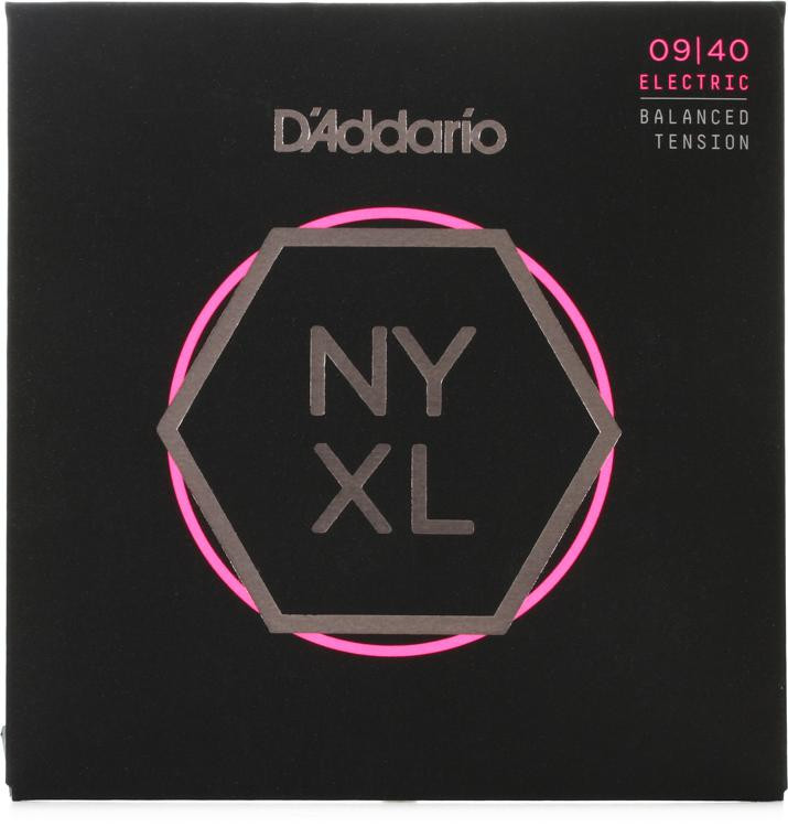 D\'Addario NYXL0940BT Nickel Wound Electric Strings .009-.040 Balanced Tension Super Light image 1