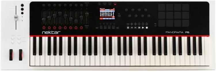 Nektar Panorama P6 61-key MIDI Controller Keyboard image 1