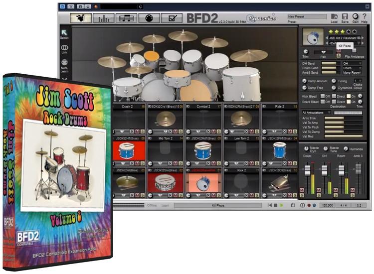 Platinum Samples Jim Scott Drums Volume 2 image 1