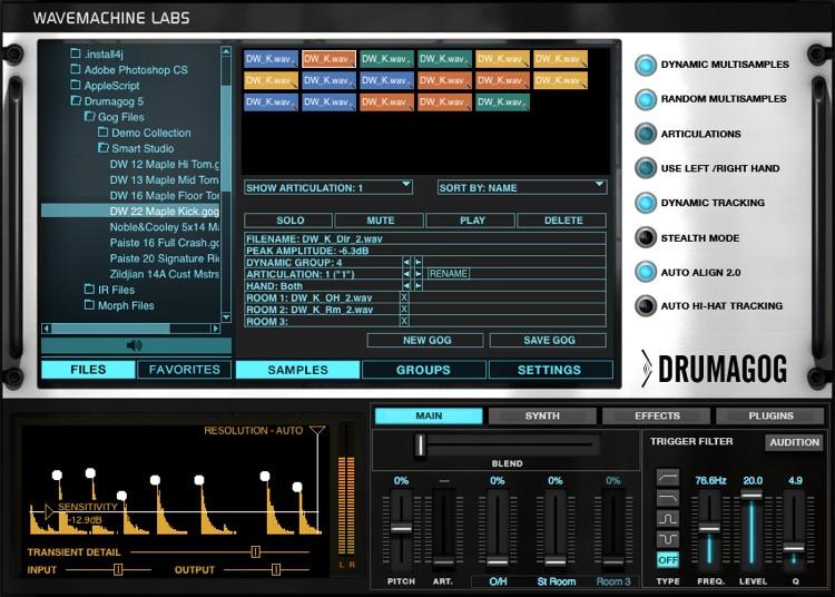 WaveMachine Labs Drumagog 5 Platinum (download) image 1