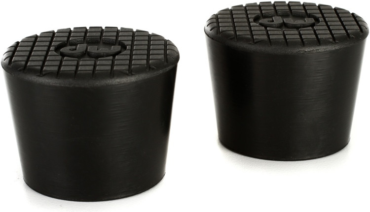 DW Round Feet for Vertical Leg (2-pack) for 9000 Series Rack image 1