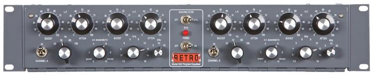 Retro Instruments 2A3 Dual Program EQ image 1