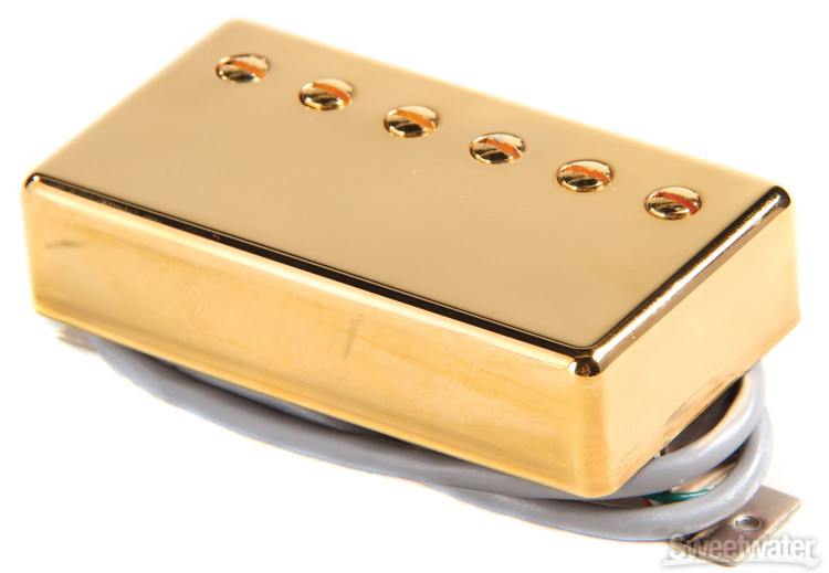 Gibson Accessories 490T Modern Classic Pickup - Bridge, Gold image 1