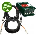 Radial JDI Direct Box Package w/Mogami CorePlus Cables
