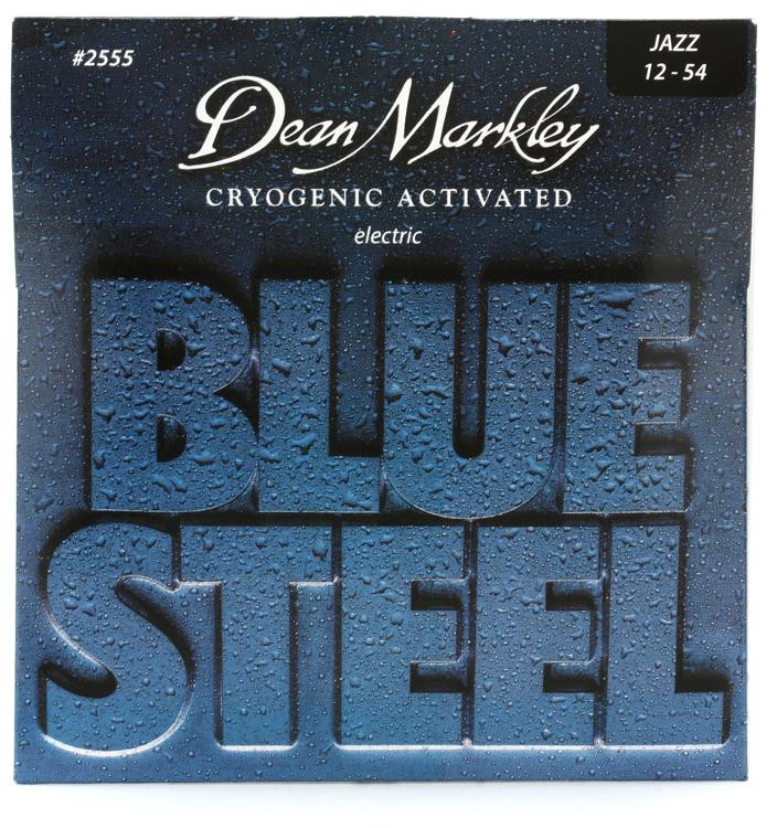 Dean Markley 2555 Blue Steel Electric Guitar Strings - .012-.054 Jazz image 1