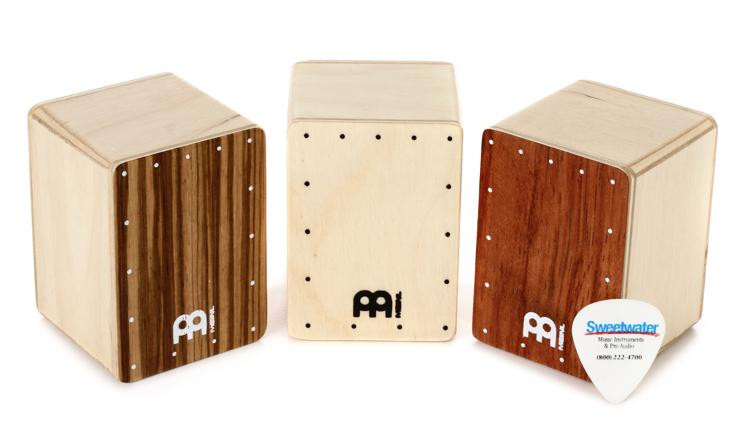 Meinl Percussion Mini Cajon Shaker Set - 3 Piece image 1