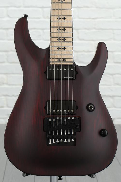 Schecter Jeff Loomis JL-7 with Floyd Rose - Vampyre Red Satin image 1