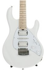 Ernie Ball Music Man Silhouette HSH - White