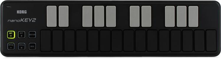 Korg nanoKEY2 Keyboard Controller - Black image 1