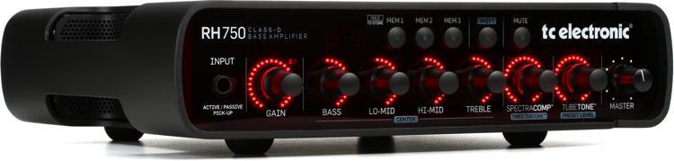 TC Electronic RH750 750-Watt Compact Bass Head image 1