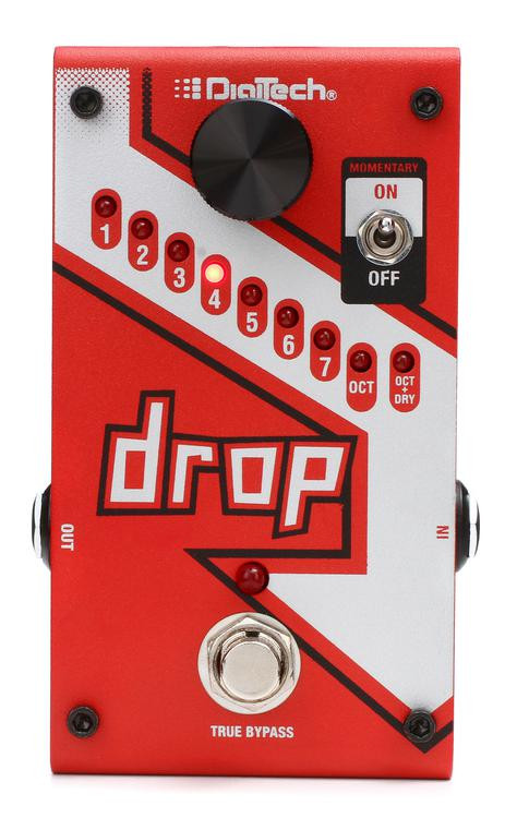 DigiTech Drop Polyphonic Drop Tune Pitch-Shift Pedal image 1