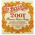 La Bella 2001 Flamenco Guitar Strings - Hard Tension