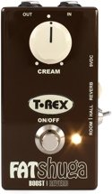 T-Rex Fat Shuga Overdrive with Reverb Pedal