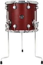 DW Performance Series Floor Tom - 12x14 - Tobacco Satin Oil