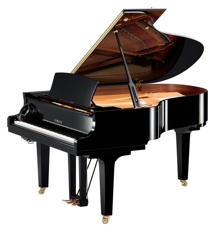Yamaha Conservatory Collection C3X SH Acoustic Grand with Silent Piano Technology image 1