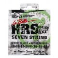 La Bella HRS-72 Nickel 7-string Electric Guitar Strings - 0.010-0.064