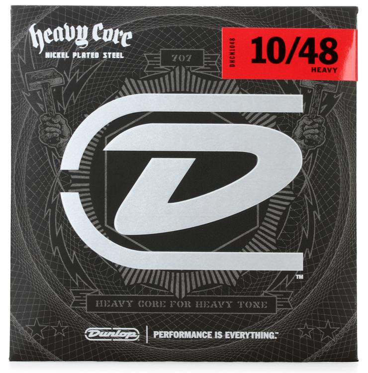 Dunlop DHCN1048 Heavy Core NPS Electric Strings - .010-.048