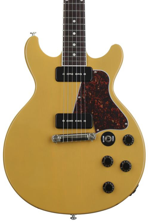 gibson les paul special double cut 2018 tv yellow sweetwater. Black Bedroom Furniture Sets. Home Design Ideas