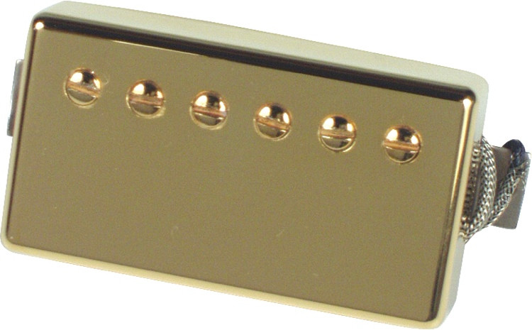 Gibson Accessories Burstbucker Pro Pickup - Gold, Neck, 2-Conductor image 1